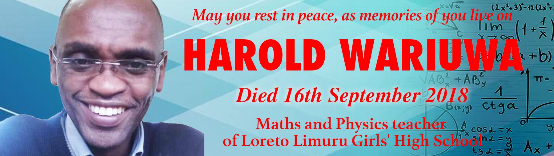 Harold Wariuwa
